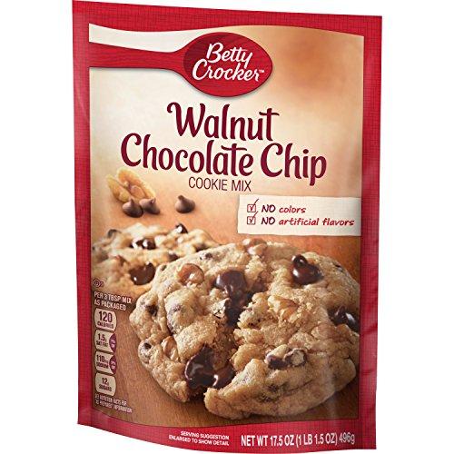 Betty Crocker Cookie Mix, Walnut Chocolate Chip, 17.5 Ounce