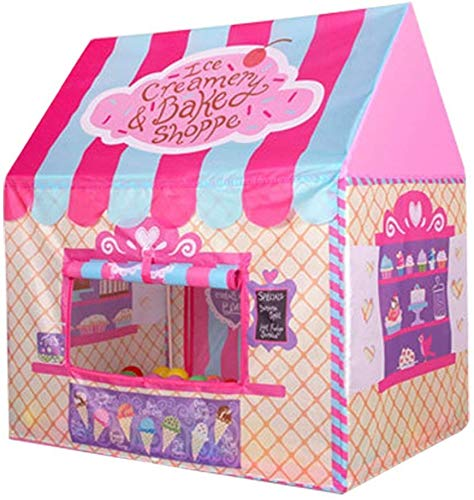 Maydolly Kids Play Tent Pretend Club House Girl Boy Outdoor&Indoor Pop up Play Tents (Pink)