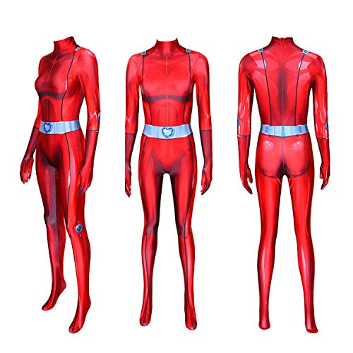 Totally Spies Cosplay Girls Clover Costume Child Halloween