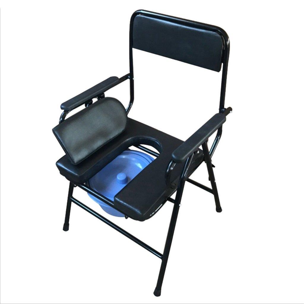 春早割 妊娠中の女性のトイレシート高齢者の人ポータブル便座の椅子障害付きの鋼管のトイレの上にパッド付き携帯電話バケツアンチスリップの手すりを持つ丈夫で耐久性のあるバスシャワースツールMax.200kg B07F6WT8FN B07F6WT8FN, クワナグン:6e716c4e --- eastcoastaudiovisual.com