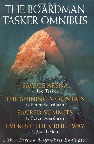 The Boardman Tasker Omnibus Savage Arena The Shining Mountain