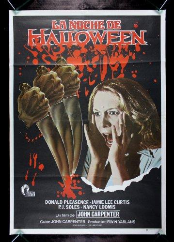 HALLOWEEN * CineMasterpieces RARE SPANISH 1SH ORIGINAL HORROR MOVIE POSTER 1978