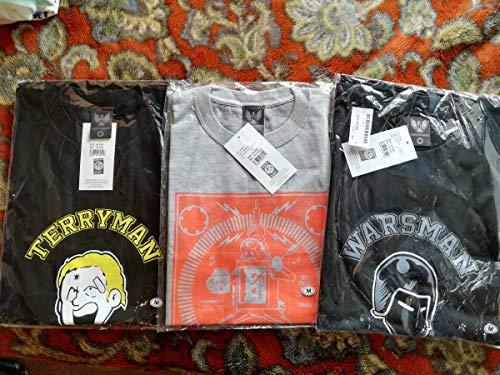 Mサイズ 3枚キン肉マン テリーマン ウォーズマン ステカセキング Tシャツ セットの商品画像