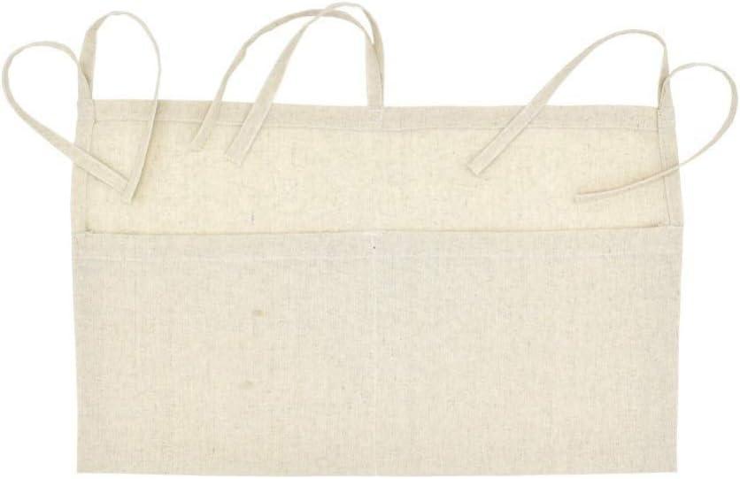 MiyaSudy Baby Organizer For Crib Bed Hanging Storage Bag Toy Diaper Pocket Bedding Set Kide Toldder Boys Girls Gift