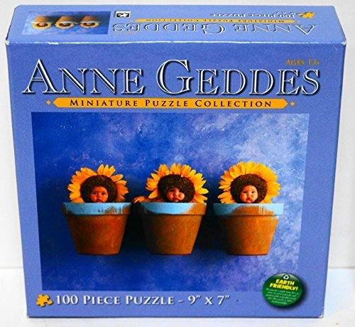 Anne Geddes Miniature Puzzle Collection 100 Pc 9