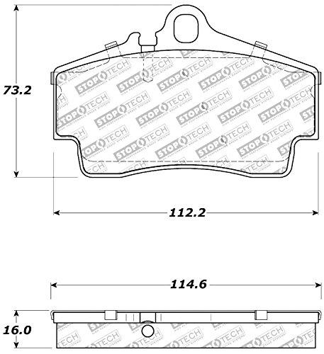 StopTech 309.07380 Street Performance Rear Brake ()