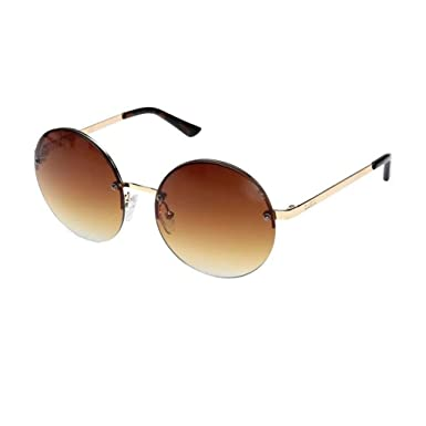 321e658e72 Amazon.com  GUESS Unisex GF0308 Gold Brown Mirror Lens One Size ...