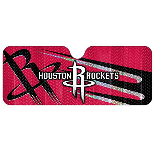 NBA Houston Rockets Sun Shade, One Size, One - Rocket Sun
