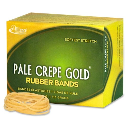 Pale Crepe Gold Rubber Band - Size: #16 - 2.50