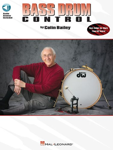 Bass Drum Control: Best Seller for More Than 50 Years! [Bailey, Colin] (Tapa Blanda)