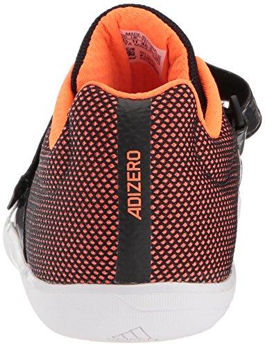 adidas Performance Adizero Diskus- / Hammerschienenschuh Core Black, Ftwr Weiß, Orange