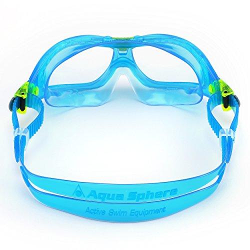 Aqua Sphere Seal KID Lunettes de Natation FILLE Bleu / Lens Claire