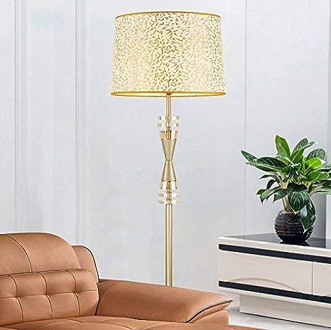 Amazon.com: MOM Long Pole Floor Lamp,Led Creative Golden ...