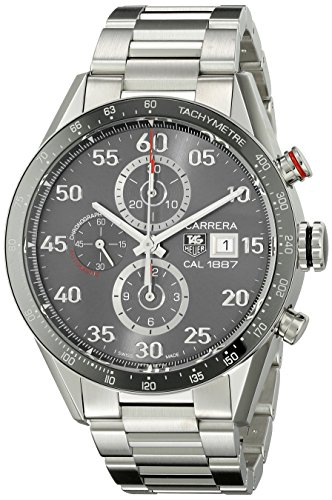 Baume Mercier Men s MOA10068 Automatic Stainless Steel Black Dial Chronograph Watch