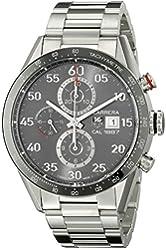 TAG Heuer Men's CAR2A11.BA0799 Automatic Self-Wind Silver Watch