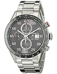 TAG Heuer Men's CAR2A11.BA0799 Analog Display Automatic Self Wind Silver Watch