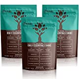 Clean and Lean Meal Replacement Shakes by LyfeFuel - Curb Hunger Cravings with Plant Based Protein + Superfoods - Ideal for Vegan Keto Diet - (Chocolate Powder   3 Pack)
