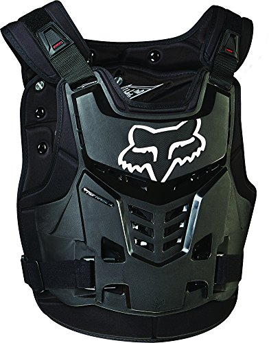 Atv Chest Protector (Fox Racing Proframe LC Roost Deflector (L/XL, Black))