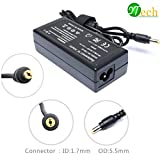 YTech 19V 3.42A 65w AC Adapter/Battery Laptop Charger for Acer Aspire E1 E11 E14 E5 E15 ES1 F5 F15 R11 R3 R7 S3 V15 V3 V5 V7 M5 ; AS 5250 5253 5515 5517 5532 5534 5733 5742 5750(Check Connector Photo)