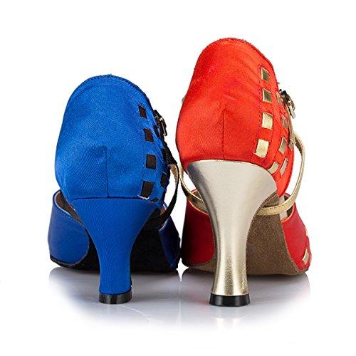 Miyoopark Salle Blue bal de Heel 6cm femme n7qFaCw