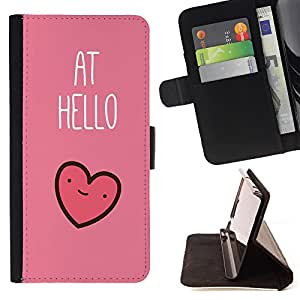 Jordan Colourful Shop - FOR Samsung Galaxy S3 MINI 8190 - at hello - Leather Case Absorci¨®n cubierta de la caja de alto impacto