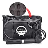 HailiCare Physio Decompression Back Belt Back Brace Back Pain Lower Lumbar Support Back Massage, one Size for 29inches to 49 inches Waists (Black)