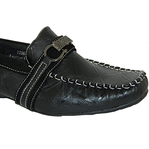 SHOE ARTISTS Best in Black Mens Slip On Loafer VP0xQin