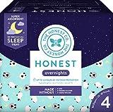 Honest Overnight Baby Diapers, Club Box, Sleepy
