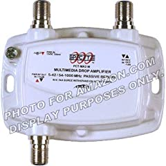1-PORT BI-DIRECTIONAL CABLE TV