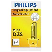 Philips D2S Standard Xenon HID Headlight Bulb, 1 Pack