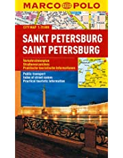 St Petersburg Marco Polo City Map: 1:15 000