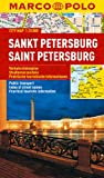 St Petersburg Marco Polo City Map: 1:15K (Russia) (Marco Polo City Maps)