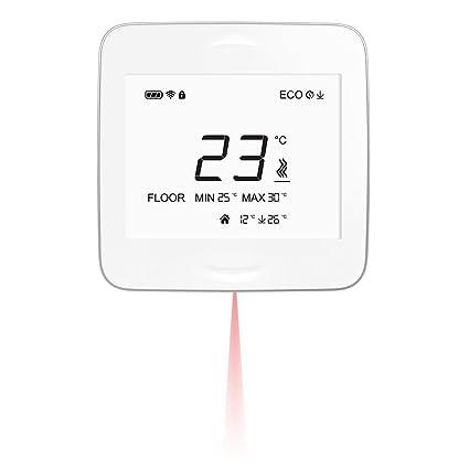 smartheat roomunit con IR sensor de temperatura de suelo – Termostato inalámbrico Smart. Para Hogares