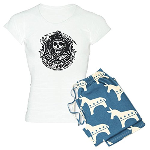 CafePress - Sons of Anarchy - Womens Novelty Cotton Pajama Set, Comfortable PJ Sleepwear
