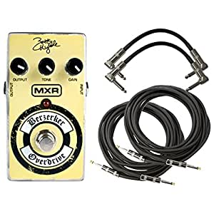 mxr zw44 zakk wylde berzerker overdrive pedal for guitars with 2 path cables and 2. Black Bedroom Furniture Sets. Home Design Ideas