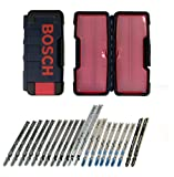 Bosch TC21HC 21-Piece T-Shank Contractor Jig Saw Blade Set
