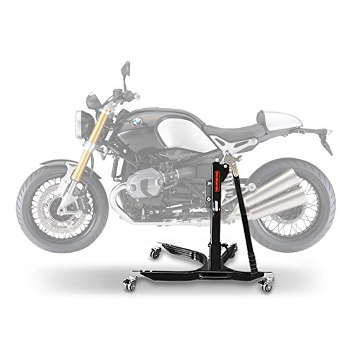 Motorbike Central Stand Paddock Lift ConStands Power BMW R NineT Pure 2017, Adaptor+Casters incl. - Central Stand