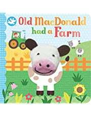 Old Macdonald Had a Farm (Finger Puppet Book) (Finger Puppet Board Book)