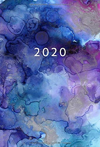 2020  A6 Kalender Mini Planer   1 Woche Auf 2 Seiten   Jan   Dez Wochenplaner   Aquarell Cover   Kalenderbuch Terminkalender Organizer Wochenkalender ... Buchkalender Jahresplaner Taschenkalender