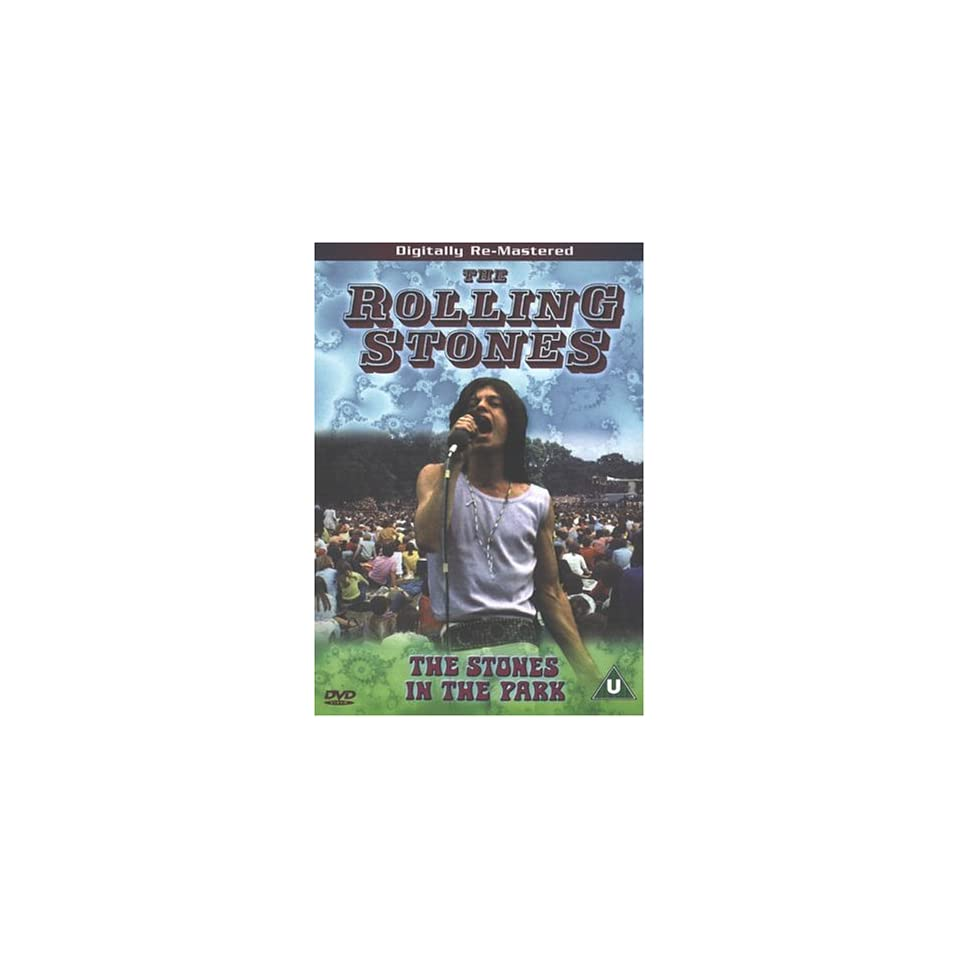 The Rolling Stones   The Stones In The Park UK Import Rolling Stones DVD & Blu ray