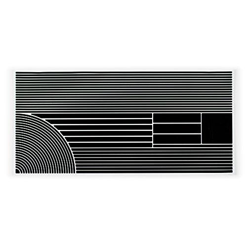 Cheap RydeSafe Reflective Decals Multi Stripes Detail Kit, Black