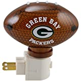 NFL Acrylic Football Night Light NFL Team: Green Bay Packers