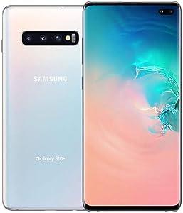 Samsung Galaxy S10+, 512GB, Ceramic White - Fully Unlocked (Renewed)