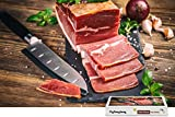 PigBangbang,Intellectiv Games Unique Puzzle Wooden in a Box Famous Paintings Mural Decoration - Meat Knife Cutting - 1500 Piece Jigsaw Puzzle (34.4 X 22.6'')