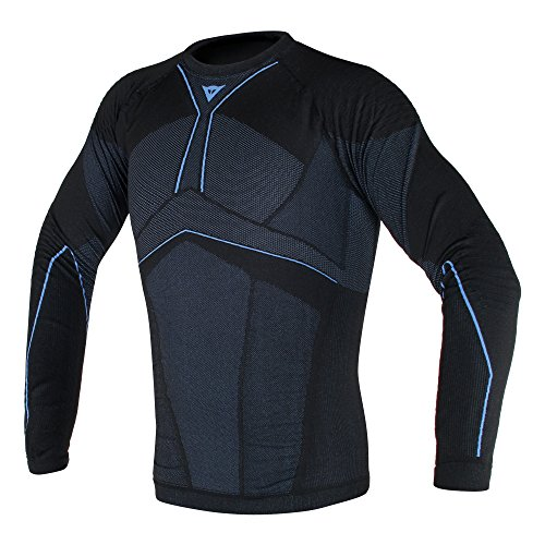 Dainese D-Core Aero Base Layer Shirt Black/Cobalt Blue XL/XXL
