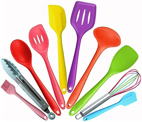 Silicone Kitchen Utensil Set Colorful