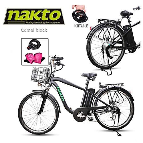 Casinò e attrezzature Ciclismo GC® EBIKE Batteria 36V 8.8Ah Bicicletta Elettrica Silverfish con Celle Panasonic Li-Ion e Caricabatterie Rikonda E-Glide Genze Merida