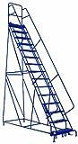 Louisville Ladder GSW2415 Rolling Warehouse Ladder