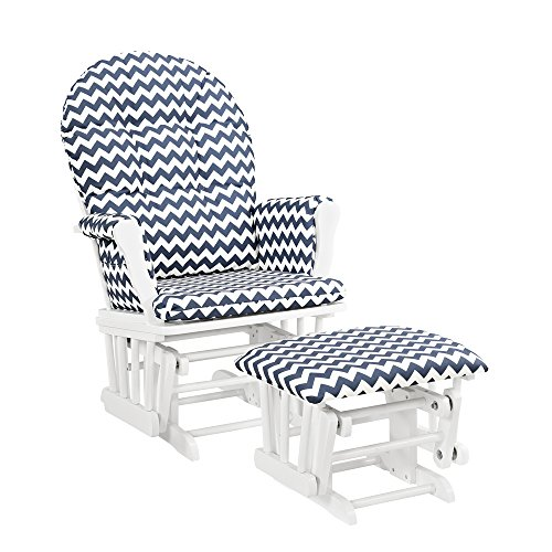 Top rocking chair navy blue
