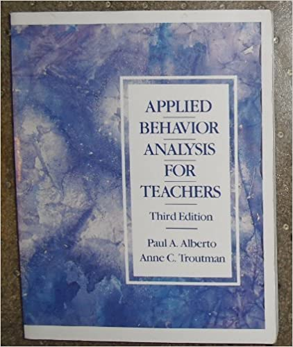 Book Applied Behaviour Analysis for Teachers